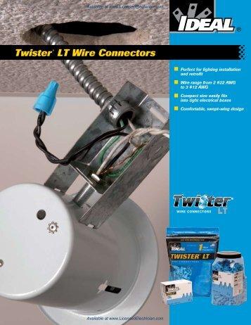 Twister® LT Wire Connectors - LicensedElectrician.com