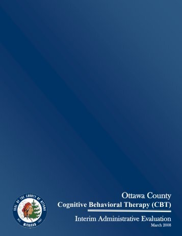 Cognitive Behavioral Therapy (CBT) - Ottawa County