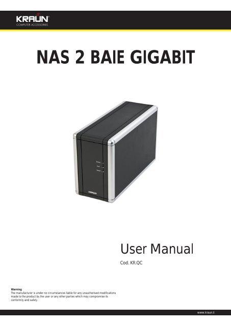 nas 2 baie gigabit - Kraun