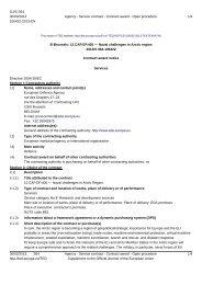 12.CAP.OP.405 Contract Award Notice - European Defence Agency