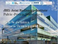 JBEI - Federal Laboratory Consortium for Technology Transfer