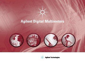 Agilent Digital Multimeters - 4test