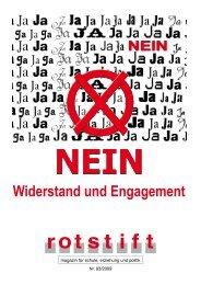 Widerstand und Engagement - rotstift - SPÖ