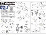 TD23062: 1/12 '09 YZR-M1 Detail-Up Set - Top Studio