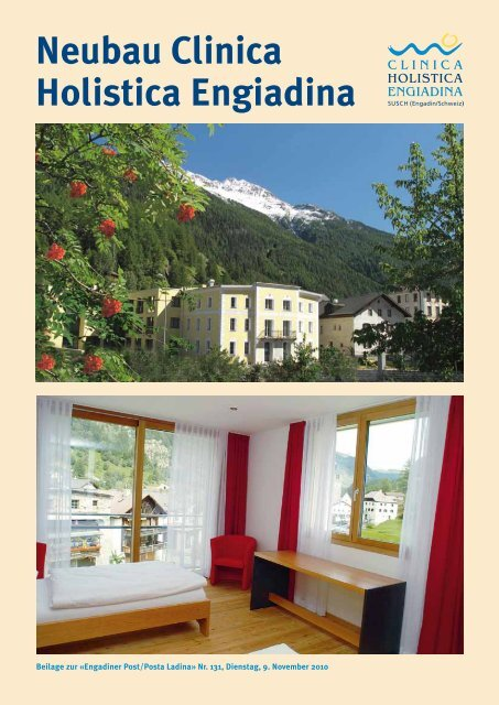Neubau Clinica Holistica Engiadina - Clinica Holistica Engiadina SA