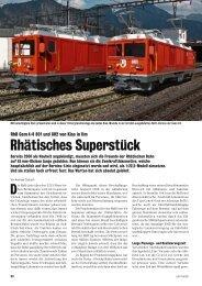 Rhätisches Superstück - Kiss Modellbahnen