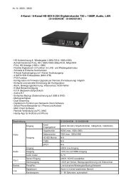 4-Kanal / 8-Kanal HD-SDI H.264 Digitalrekorder 720 + 1080P, Audio ...