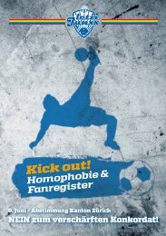 Kick out! - Queer Football Fanclubs