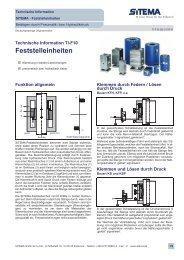 Feststelleinheiten (5 MB) - Aroflex AG