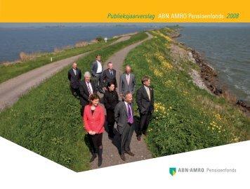 Publieksjaarverslag ABN AMRO Pensioenfonds 2008