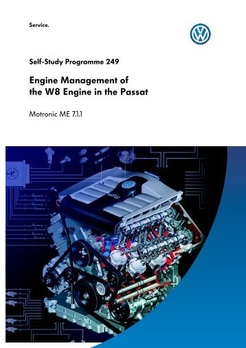 Engine Management of the W8 Engine in the Passat - VolksPage.Net