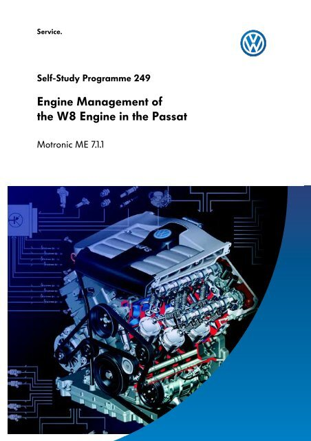 engine management of the w8 engine in the passat - volkspage net