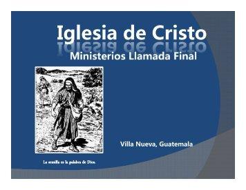 Las Edades.pdf - IGLESIA DE CRISTO - Ministerios Llamada Final