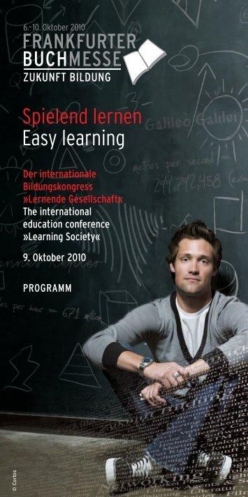 Programm_Bildungskongress_2010.pdf - bei der Nürtingen ...