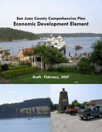 Economic Development Element - San Juan County Extension Office
