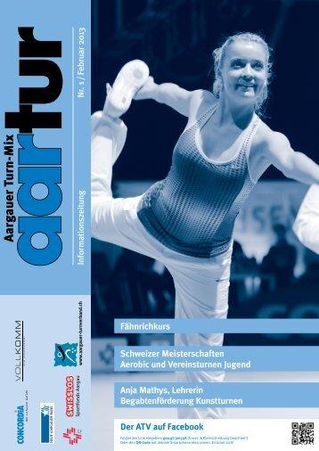 Ausgabe 01_2013 - Aargauer Turnverband