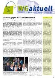 Ausgabe Nr. 3 / Schuljahr 2012/13 - Wieland-Gymnasium Biberach
