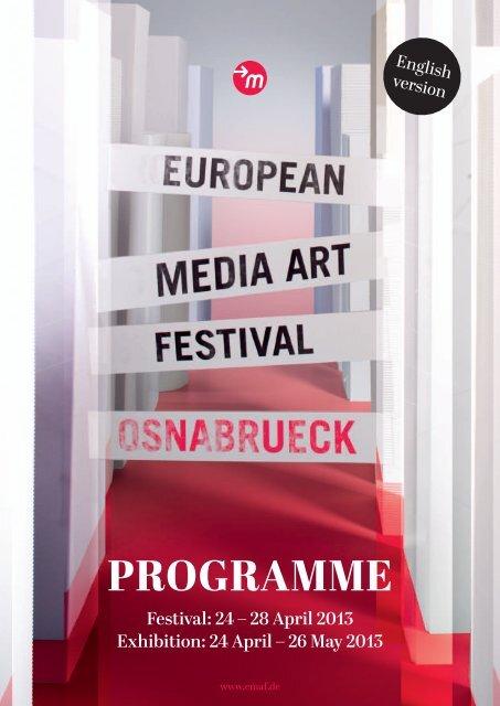 Programme 2013 PDF - EMAF