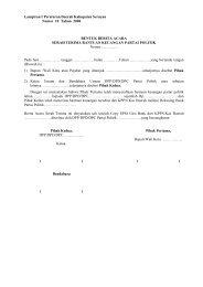 Lampiran I Peraturan Daerah Kabupaten Seruyan Nomor 10 Tahun ...