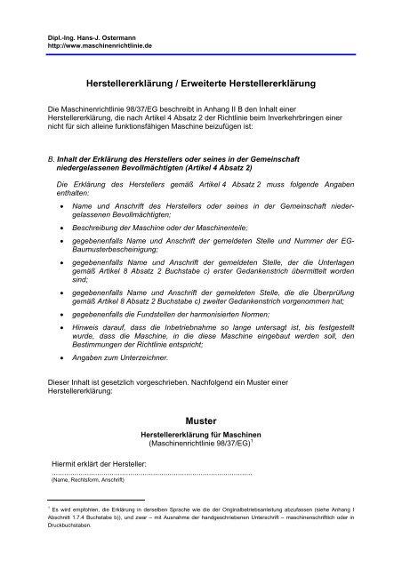 Konformitatserklarungen Vorlegen Und Oder 5