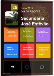 Consulte aqui o programa - ESJE
