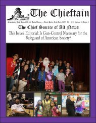 The Chieftain - Sewanhaka Central High School District