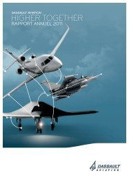 Rapport annuel 2011 - application/pdf - (4.64Mo) - Dassault Aviation