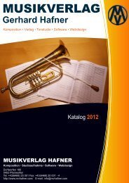 Katalog-Download - Musikverlag Gerhard Hafner