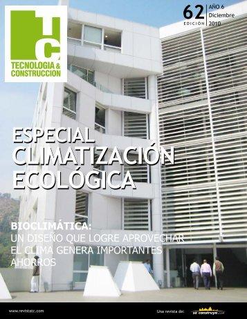 CLIMATIZACIÓN ECOLÓGICA CLIMATIZACIÓN ... - ConcretOnline