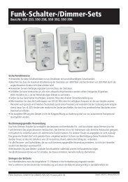 Funk-Schalter-/Dimmer-Sets - Pollin Electronic GmbH