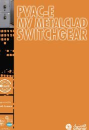 PVAC-E MV Metal Clad Switchgear Catalogue - AEC Online