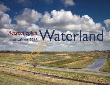 Recreatieplan Waterland - Gemeente Purmerend