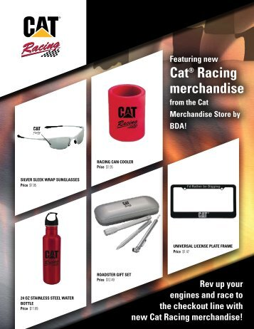 Cat® Racing merchandise - Bdasites