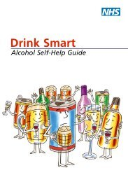 Drink Smart - alcohol self-help guide