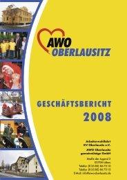 Geschäftsbericht 2008 - Arbeiterwohlfahrt - Kreisverband ...