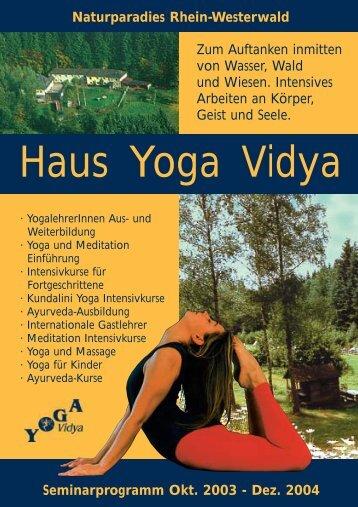 Haus Yoga Vidya