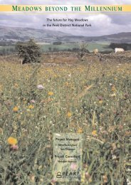 Hay Meadows Project - Peak District National Park Authority