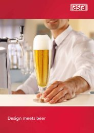 Design meets beer - Rastal