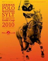 German Polo Masters Sylt Download - Polo+10 Das Polo-Magazin