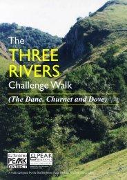 The Three Rivers Challenge Walk - Peak District National Park ...