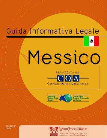 Messico - Camera di Commercio di Mantova