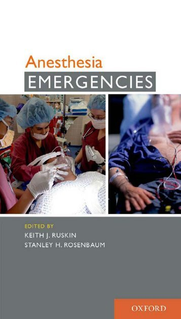 Anesthesia Emergencies - IntMedical