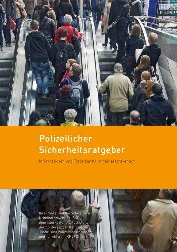 Polizeilicher Sicherheitsratgeber - Kantonspolizei Basel-Stadt