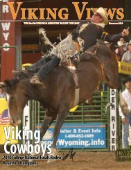2010 College National Finals Rodeo Reserve Champions