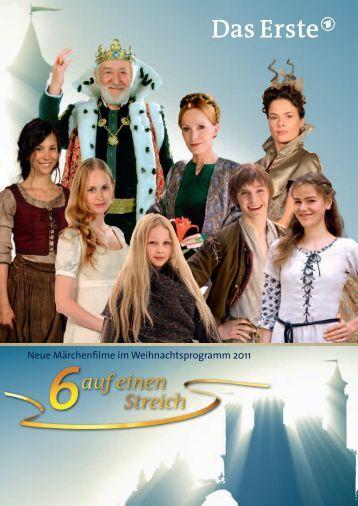 Neue Märchenfilme im Weihnachtsprogramm 2011 - beim rbb