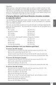 Module Light - Scubapro - Page 4