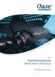 Ersatzteilkatalog Spare part catalogue - Pondhobby.ie