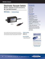 information - Vaccon Vacuum Products