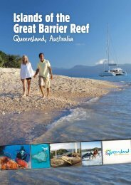 Islands of the Great Barrier Reef brochure - Whitsundays