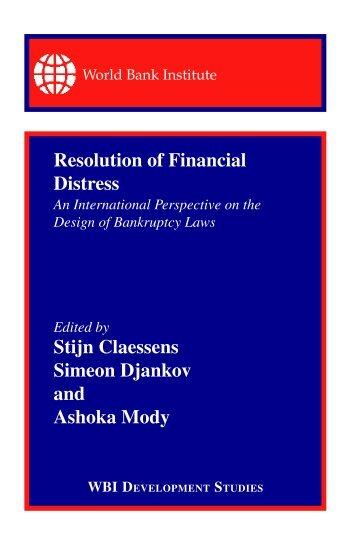 Financial Distress - Ashoka Mody